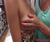with big ass yellow lick dick and anal history!
