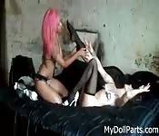 Mama i córka zabawy lesbijek