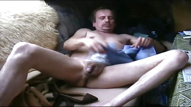 Solo Mature Male Masturbation