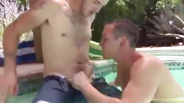 Horny guys having sex